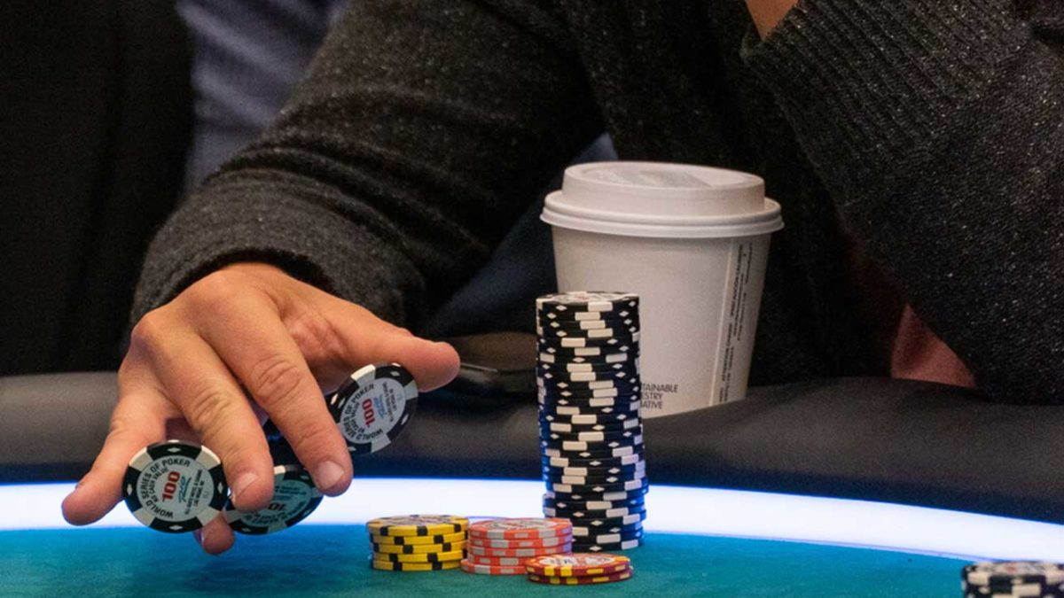 What do the biggest pros in poker advice you when gambling?
