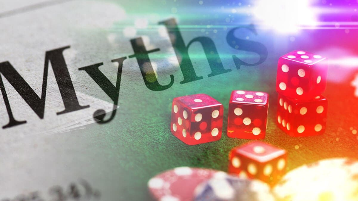 Top online gambling myths you might still believe in